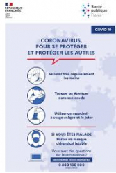 COVID 19 Supports de communication SPF