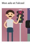 Prévention des addictions chez les ados : vidéos explicatives du site parental MonAdo.ch