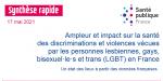 Ampleur et impact sur la santé des discriminations et violences vécues par les personnes lesbiennes, gays, bisexuel·le·s et trans (LGBT) en France