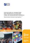 Exposition au marketing des produits alcoolisés chez les adolescents (EMPAA)
