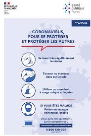 COVID 19 Supports de communication SPF